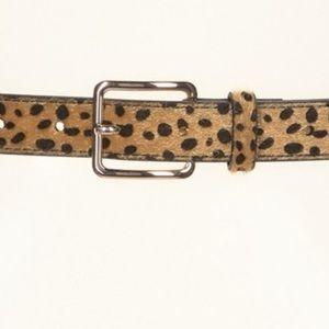 Free People Faux Fur Belts XL